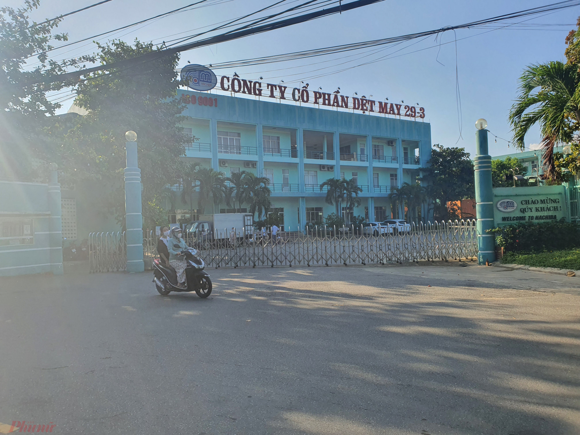 Nhà máy dệt may 29/3 hiện đóng giữa khu dân cư thuộc P.Thanh Khê Tây, Q.Thanh Khê, Đà Nẵng