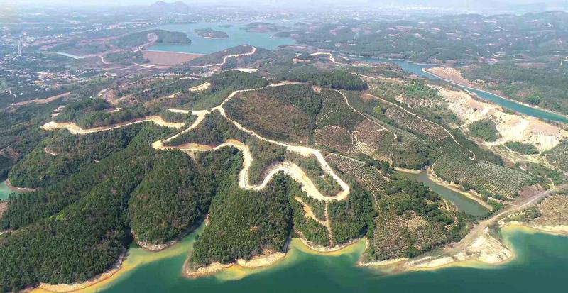 Siêu dự án của Công ty Sài Gòn - Đại Ninh diện tích gần 3.600ha trên 4 xã của huyện Đức Trọng, tỉnh Lâm Đồng. Ảnh: DKR