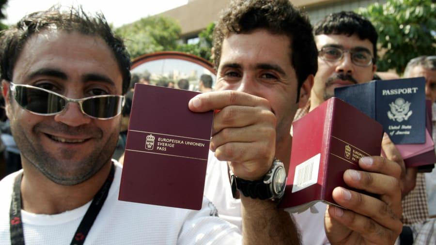 Châu Âu thống trị bảng xếp hạng hộ chiếu - Ảnh: CNN/Getty Images