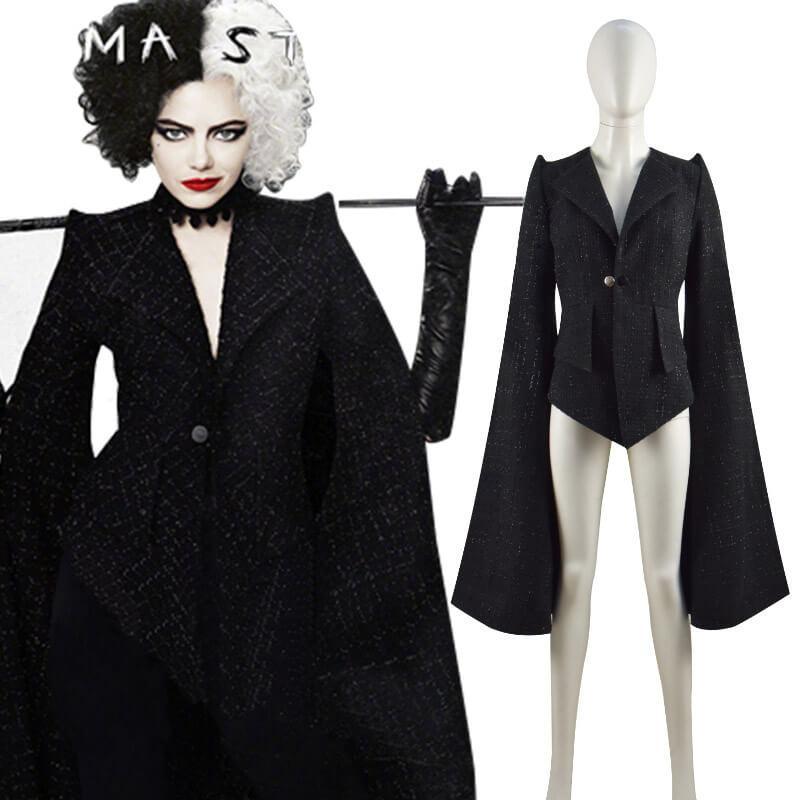 Nếu yêu thích tạo hình của nhân vật Cruella trong bộ phim cùng tên, bạn có thể mua bộ trang phục này.
