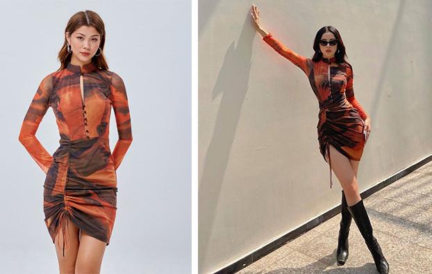 Chiếc đầm ôm dáng từ thương hiệu She by Shj có giá 530.000 đồng.