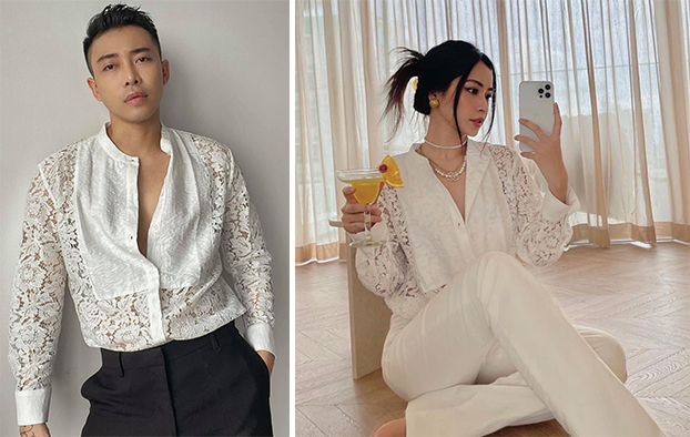 Chiếc áo dành cho cả nam và nữ của thương hiệu thời trang trong nước Unknown Cliche có giá 680.000 đồng. Nếu giỏi canh sale, bạn có thể mua