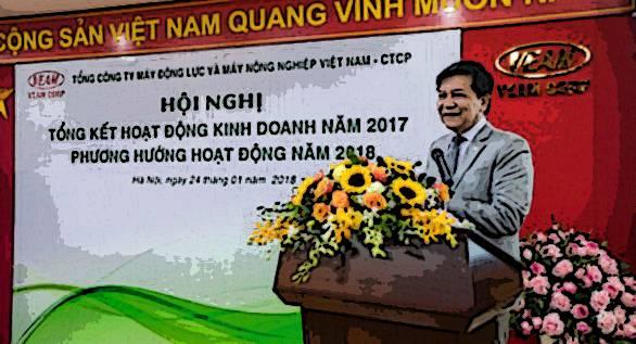 Ông Trần Ngọc Hà - nguyên chủ tịch HĐQT, nguyên tổng giám đốc VEAM