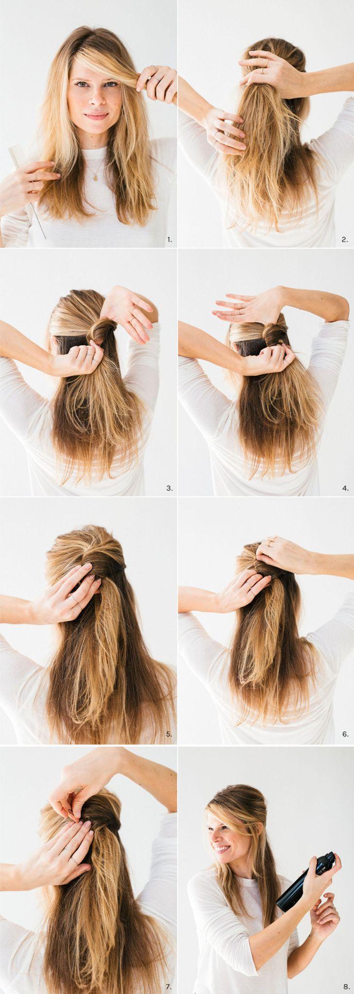 Kiểu tóc xõa kiểu Pháp