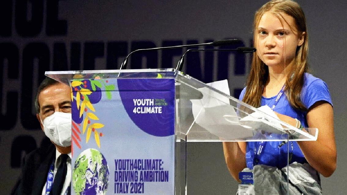 Nhà hoạt động khí hậu tuổi teen người Thụy Điển Greta Thunberg, ứng viên cho giải Nobel hòa bình năm nay