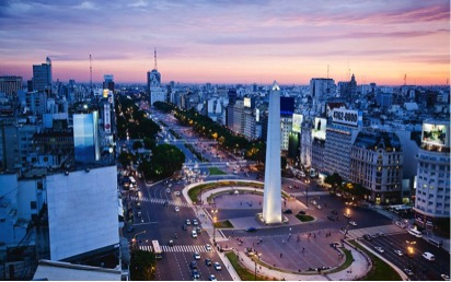 Thủ đô Buenos, Argentina đang dần lấy lại nhịp sống của một đô thị náo nhiệt