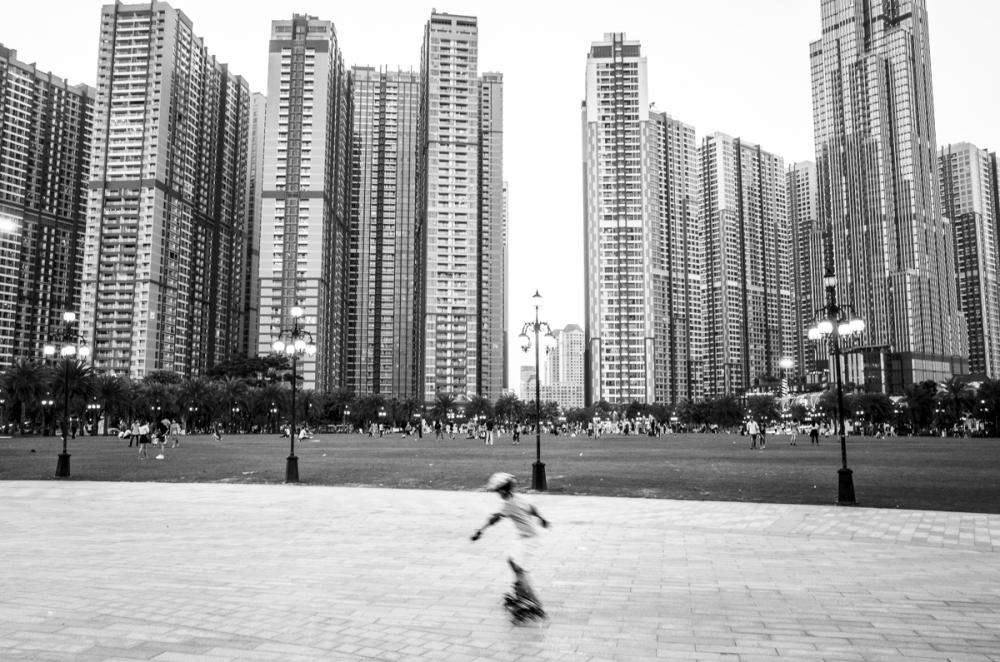 Thành phố khi chưa có bóng dáng COVID-19