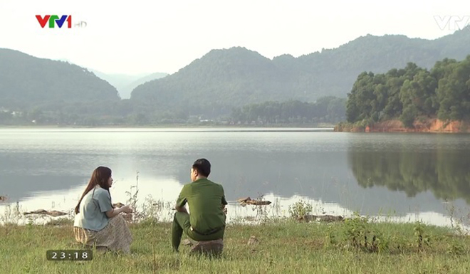 Phim Phố trong làng sở hữu nhiều khung hình đẹp về làng quê Bắc Bộ