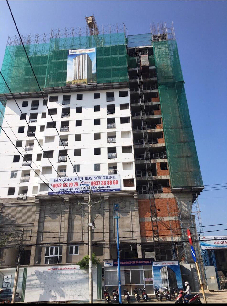 Dự án Sơn Thịnh 3 được cấp phép 20 tầng, DNTN Sơn Thịnh ký bán đến tầng 26