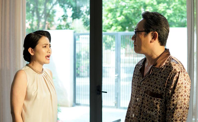 Phim Mặt nạ gương đánh dấu lần Bắc tiến hiếm hoi của diễn viên Ngọc Lan