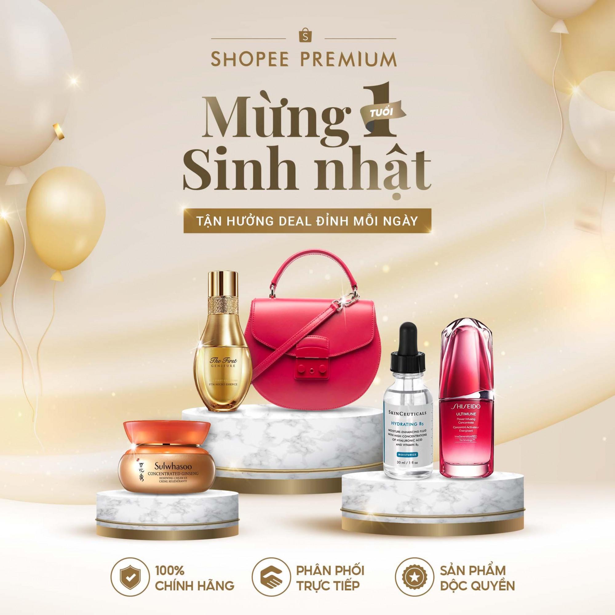 Ra mắt vào 10/10/2020, Shopee Premium là không gian mua sắm các sản phẩm sức khỏe và làm đẹp, thời trang, điện tử gia dụng… đến từ các thương hiệu nổi tiếng thuộc phân khúc cao cấp