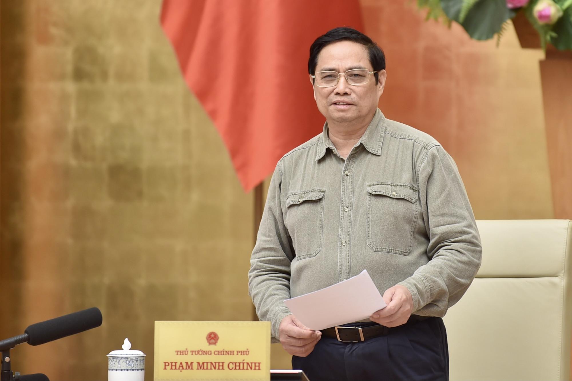 Thủ tướng yêu cầu giao thông thống nhất trên toàn quốc, không cát cứ, không chia cắt. Ảnh: VGP
