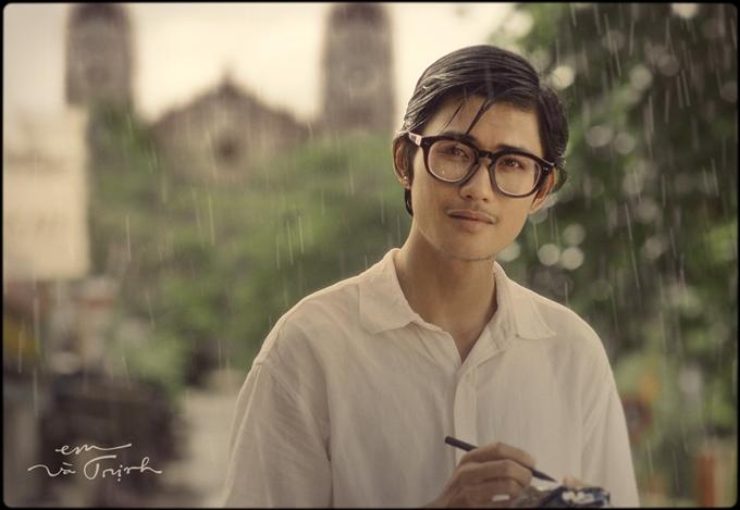 Diễn viên Avin Lu đảm vai Trịnh Công Sơn thời trẻ.