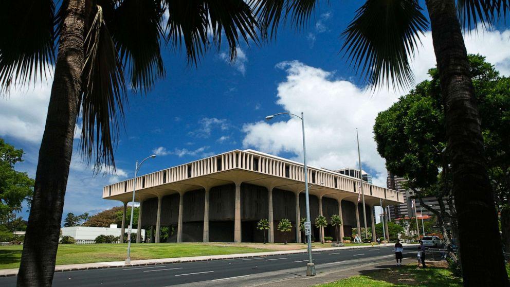 Tòa nhà Capitol của tiểu bang ở Honolulu - Ảnh: Ullstein Bild/ Getty Images