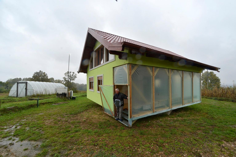 Ngôi nhà do ông Vojin Kusic thiết kế trong năm