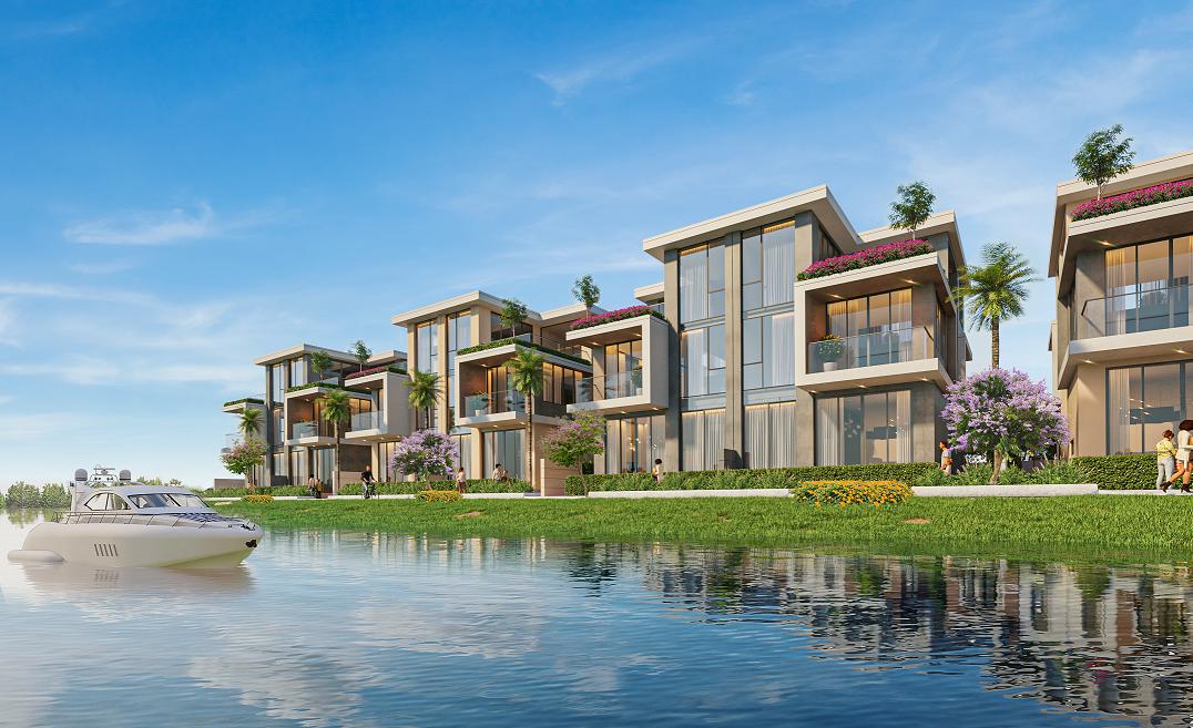 Không gian sống sinh thái, an ninh và tiện nghi hiếm có tại đô thị đảo Phượng Hoàng, Aqua City đã chinh phục gia đình