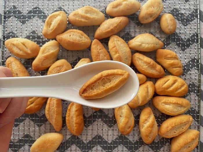 Rất nhiều bà nội trợ phát hiện ra việc làm bánh mì cũng đơn giản