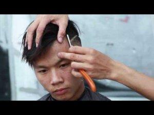 Cắt tóc miễn phí, phục vụ nhân dân