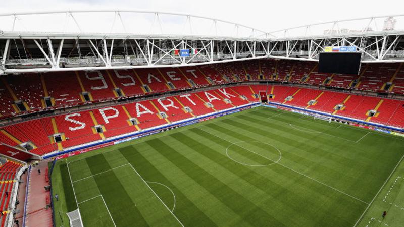 Cùng tọa lạc ở thủ đô Moscow, Spartak Stadium là sân vận động có sức chứa chỉ 45.000 chỗ ngồi. Nó sẽ là nơi ra quân của tuyển Argentina và tuyển Iceland, 3 trận đấu vòng bảng khác và 1 trận vòng 16 đội.