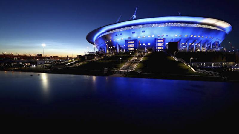 Nằm ở thành phố Saint Petersburg, sân vận động Saint Petersburg Stadium có sức chứa 67.000 chỗ ngồi. Đây sẽ là nơi nhập cuộc của tuyển Marốc và tuyển Iran, 3 trận vòng bảng khác, 1 trận vòng 16 đội, 1 trận bán kết và 1 trận tranh giải ba.