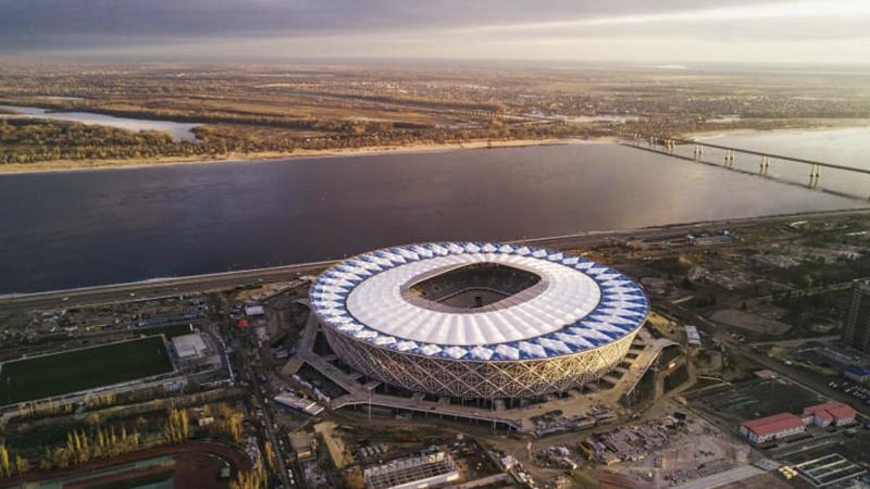 Sân vận động Volgograd Arena tọa lạc ở thành phố Volgograd và có sức chứa 45.000 chỗ ngồi. Nó sẽ là nơi diễn ra trận đấu giữa tuyển Anh và tuyển Tunisia, cùng 3 trận đấu vòng bảng khác.