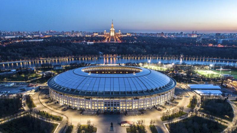 Luzhniki Stadium là sân vận động có sức chứa tới 80.000 chỗ ngồi ở thủ đô Moscow. Đây sẽ là nơi diễn ra trận khai mạc World Cup 2018 giữa đội chủ nhà Nga và tuyển Ả Rập Xê Út, 3 trận đấu vòng bảng khác, 1 trận vòng 16 đội, 1 trận bán kết và trận chung kết.