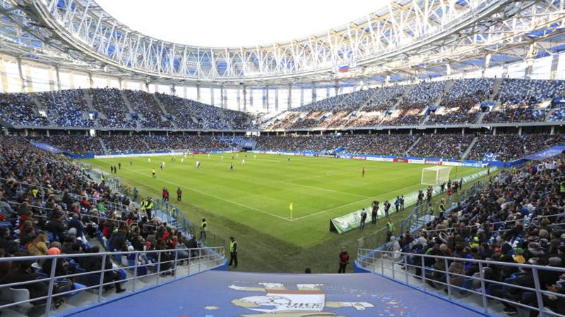 Sân vận động Nizhny Novgorod Stadium tọa lạc ở thành phố Nizhny Novgorod và có sức chứa 45.000 chỗ ngồi. Nó sẽ là nơi diễn ra cuộc chạm trán giữa tuyển Thụy Điển và tuyển Hàn Quốc, 3 trận đấu vòng bảng khác, 1 trận vòng 16 đội và 1 trận tứ kết.