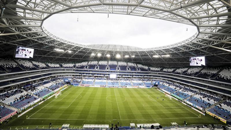 Nằm ở thành phố Samara, sân vận động Samara Arena có sức chứa 45.000 chỗ ngồi. Samara Arena sẽ là sân đấu dành cho tuyển Costa Rica và tuyển Serbia, 3 trận vòng bảng khác, 1 trận vòng 16 đội và 1 trận tứ kết.