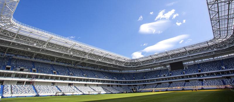 Kaliningrad Stadium là sân vận động có sức chứa chỉ 35.000 chỗ ngồi ở thành phố Kaliningrad. Nó sẽ là nơi diễn ra trận đấu giữa tuyển Croatia và tuyển Nigeria, cùng 3 trận đấu vòng bảng khác.