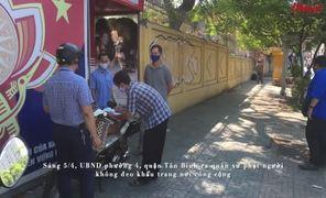Xử phạt người dân không đeo khẩu trang nơi công cộng