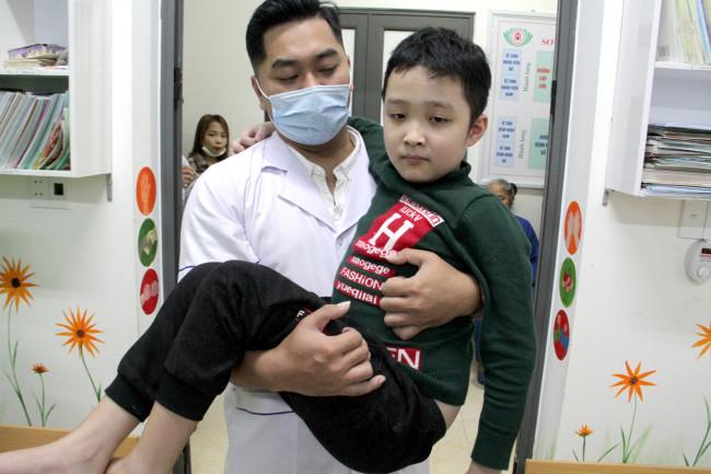 """<p style=""""text-align: justify;""""><em>Lớp học tại Trung tâm Huyết học truyền máu tỉnh Nghệ An có khoảng 20 em nhỏ đang điều trị.</em></p>"""