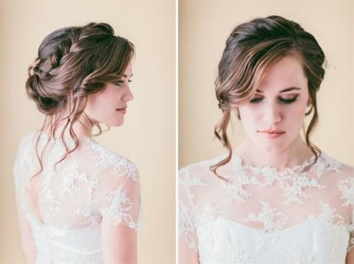 Tự tết tóc cô dâu đơn giản mà đẹp lung linh trong ngày cưới