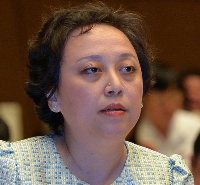 Ba Pham Khanh Phong Lan - Truong ban Quan ly ATVSTP: 'Dung nghi toi co dua than'