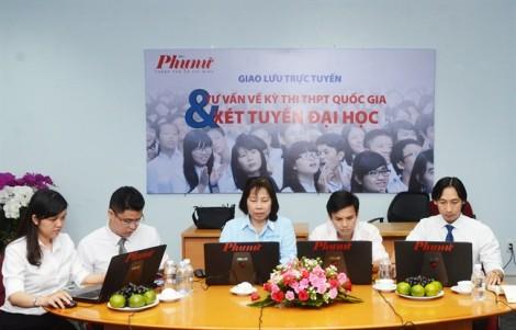 Tư vấn trực tuyến về kỳ thi THPT quốc gia và xét tuyển đại học