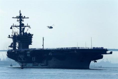 Mỹ điều tàu sân bay áp sát Triều Tiên