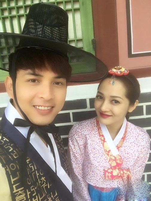 Bao Anh va Ho Quang Hieu cung nhau di du lich, xoa tan tin don ran nut