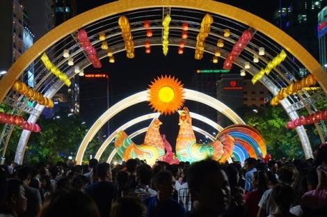 Sẽ có các quầy ẩm thực, lưu niệm trên phố Nguyễn Huệ ?