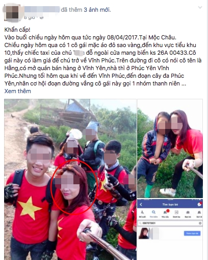 Nu phuot thu quyt tien taxi 200 km khien cong dong mang day song