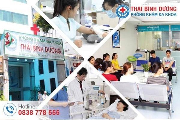 Phong kham da khoa Thai Binh Duong - Dia chi cham soc suc khoe sinh san toan dien