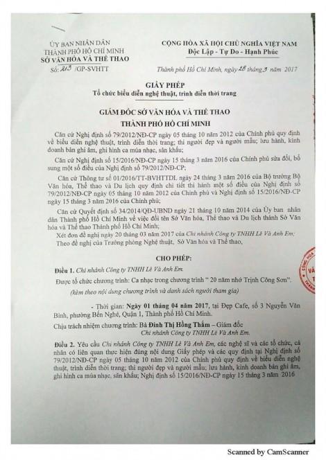 Bài hát 'Nối vòng tay lớn' nằm trong danh sách cấm hát