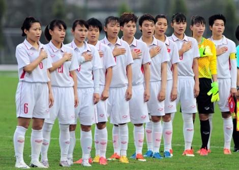 Vòng chung kết Asian Cup 2018 chào đón tuyển nữ Việt Nam