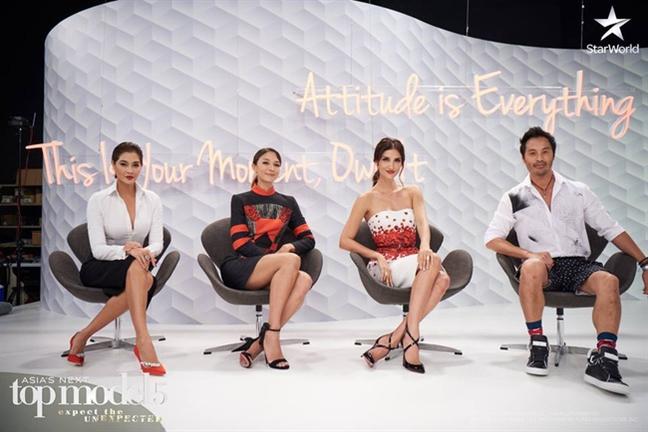 Nguoi mau Minh Tu muon bo cuoc tai chuong trinh Asia's Next Top Model