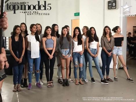 Người mẫu Minh Tú muốn bỏ cuộc tại chương trình Asia's Next Top Model