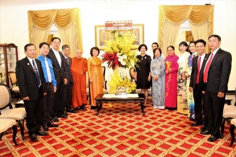 Ủy ban MTTQVN TP.HCM: Thăm và chúc tết cổ truyền các nước Lào, Campuchia, Thái Lan