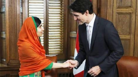 Malala Yousafzai trở thành công dân danh dự Canada
