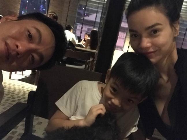 Cuong Do-la khang dinh Ho Ngoc Ha va con trai Subeo la mot gia dinh