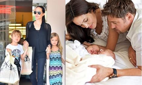 Brad Pitt giận dữ quyết giành nuôi con vì Angelina Jolie để con bị đánh đập