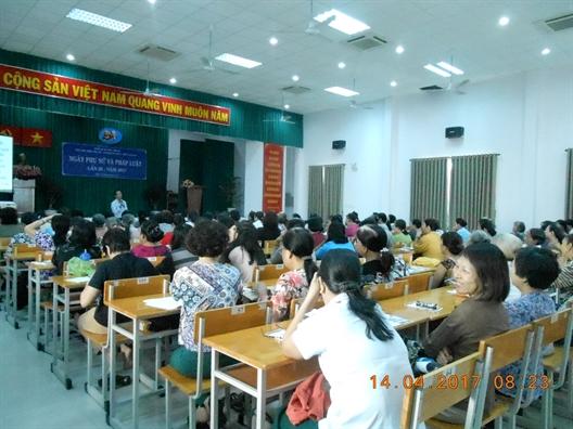 Quan Phu Nhuan: Tuyen truyen phap luat ve tre em