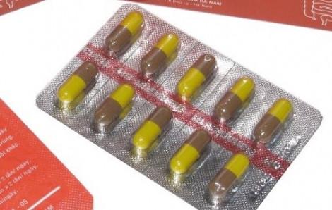 Thu hồi thuốc Berberin không đảm bảo chất lượng