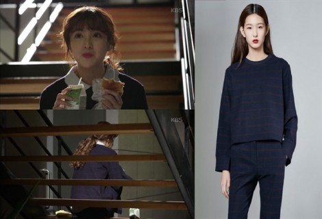 Thời trang công sở cá tính của nữ chính phim 'Sếp Kim đại tài'